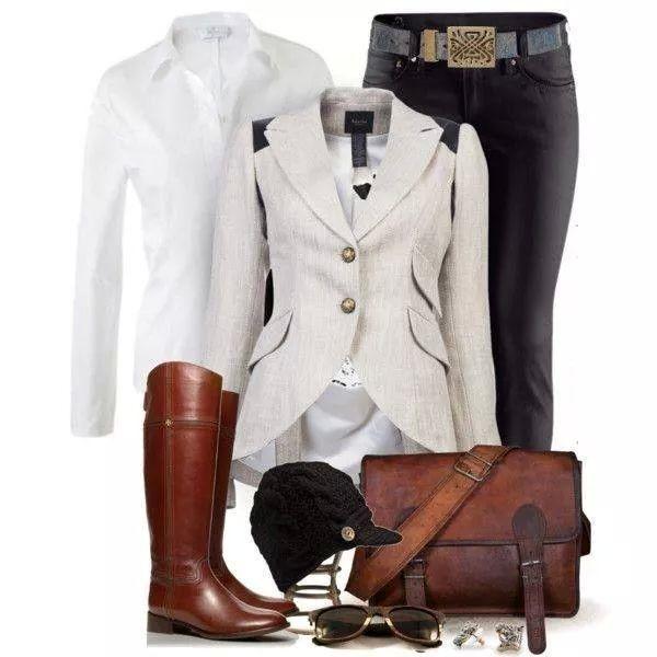 Equestrian clothing set, elegant, casual, dressy, fashion, style, sporty, girly, classic, traditional, sophisticate clothing fashion.