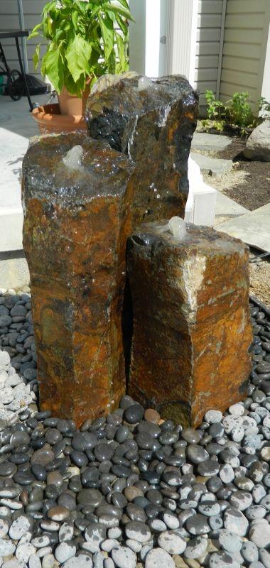 Natural Stone Fountain