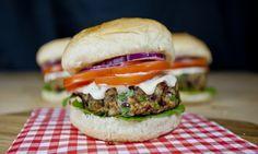 Burger di fagioli e funghi