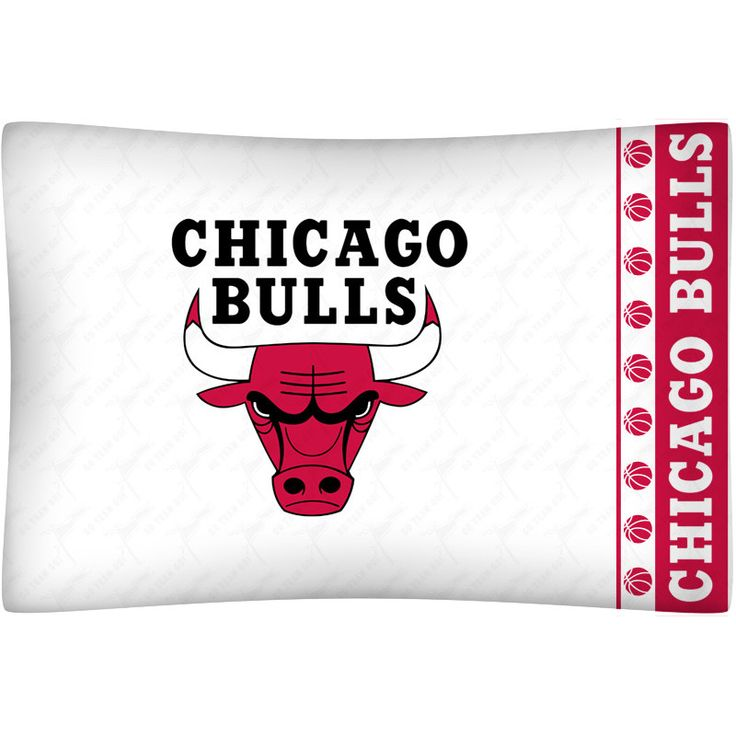 Chicago Bulls Team Logo Pillowcase