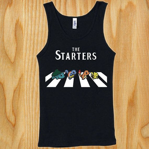 best Seller Starters pokemon shirt for Tank top Mens and Tank top Ladies on  Etsy,