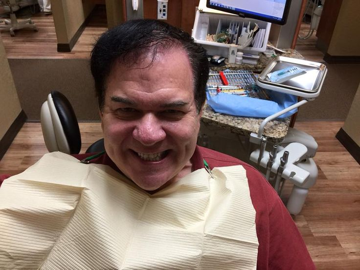 Radio personality and great patient, Rich Stevens enjoying
