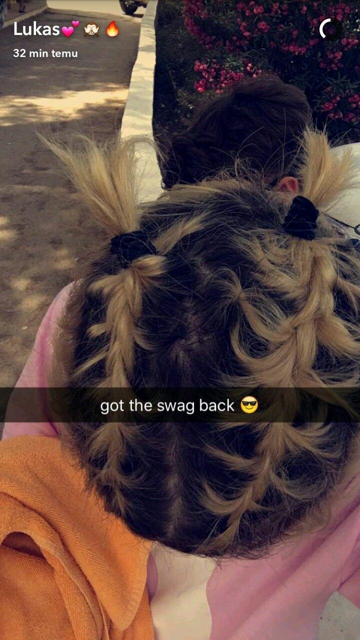 Soooo cute Lukas Rieger boxer braids
