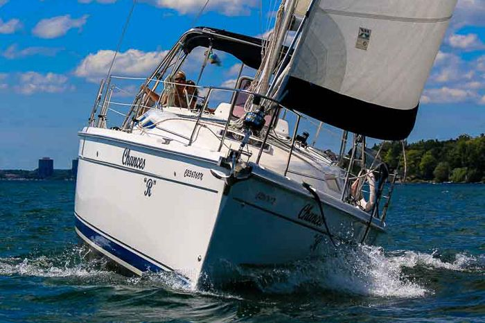 See #Barrie from #KempenfeltBay! Chances R Sailing Tours
