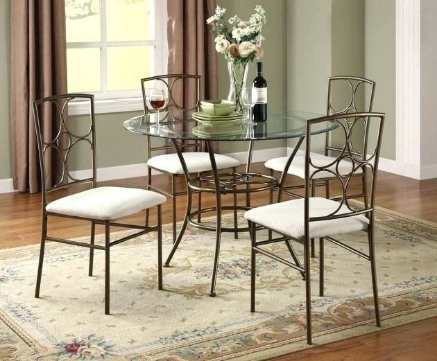 Black Wrought Iron Dining Room Chairs Small Round Kitchen Table Round Dining Room Table Glass Kitchen Tables