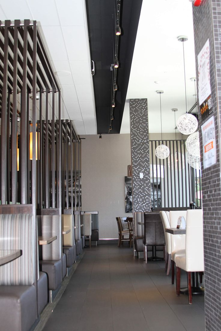 Milestones Restaurant | Terlin Construction LTD. #millwork #construction #ottawa