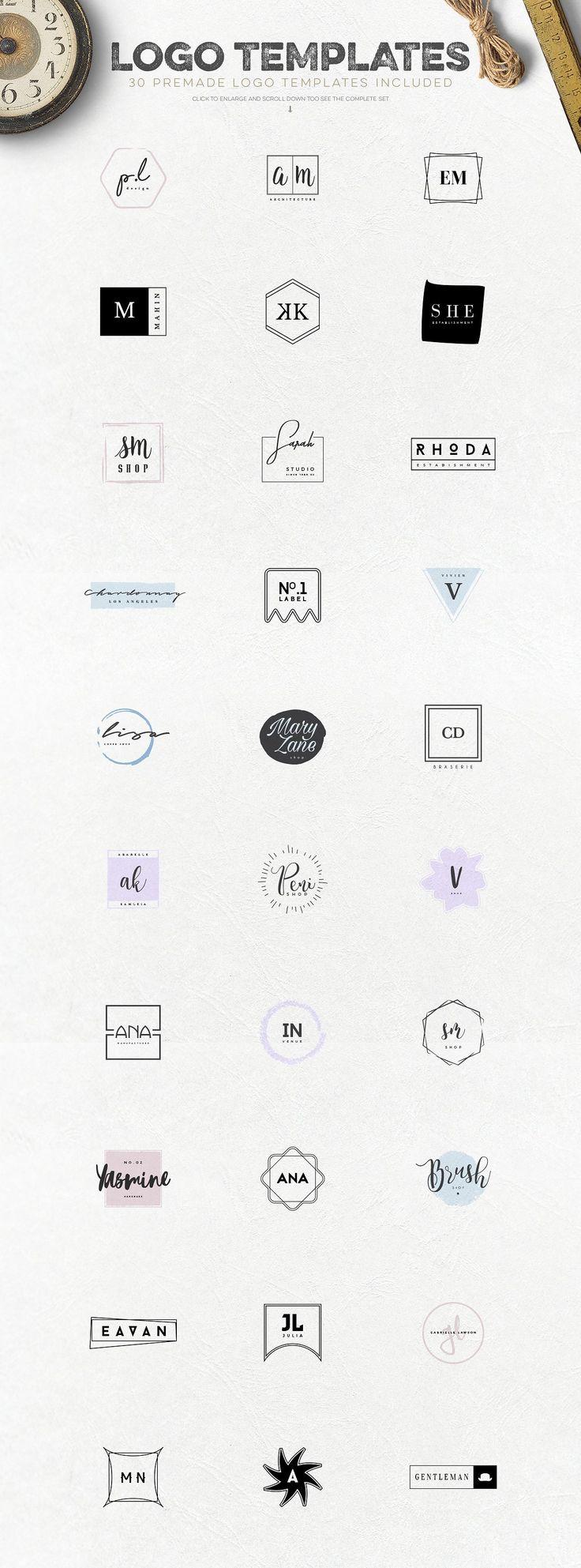 Logo Creation Kit Vol.6 by Zeppelin Graphics on @creativemarket