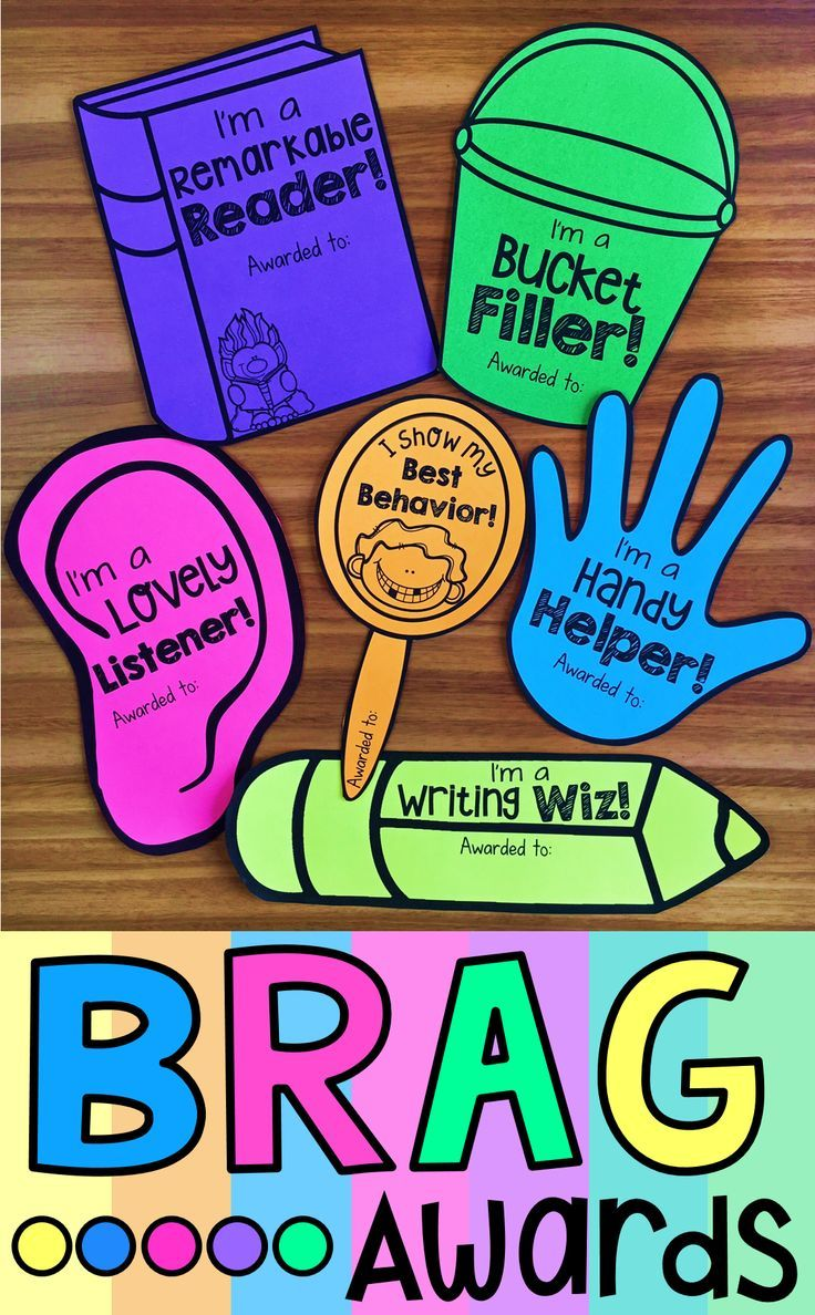 Brag Awards can be an exciting, little addition to your existing behavior management system. They make the award-giving process super special for students who work hard to try to earn them. Their unique design makes them a fun and cheap way to reward positive behavior within your classroom.