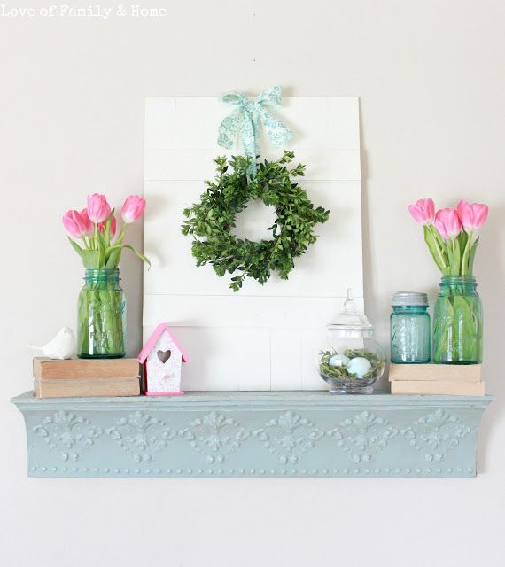 33 Best Images About Easter Fireplace Decor On Pinterest
