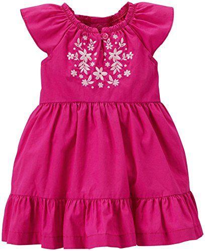 Carter's Baby Girls' Tiered Dress (Baby) - Purple - 3 Months
