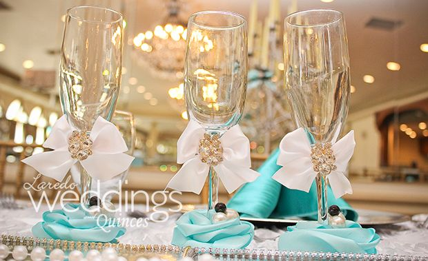 Tiffany themed quince #details #quince #tiffany #theme http://www.ldoweddings.com/tiffany-themed-quince/