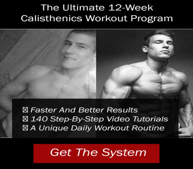 Calisthenics: Best 10+ Calisthenics Workout Routine Ideas On Pinterest