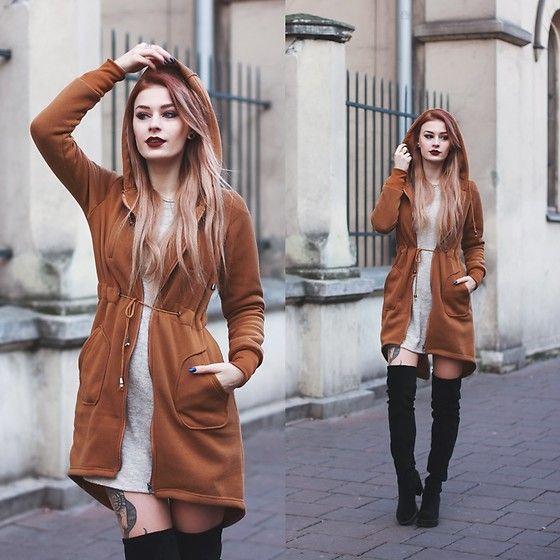 Get this look: http://lb.nu/look/8500077  More looks by Katarzyna Konderak: http://lb.nu/katepanth  Items in this look:  Hoodie   #casual #minimal #street #camel #hoodie