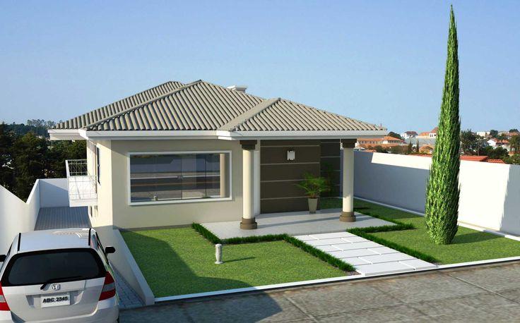Veja dicas e plantas de casas para terrenos em declive e saiba como um funciona um projeto desse modelo.