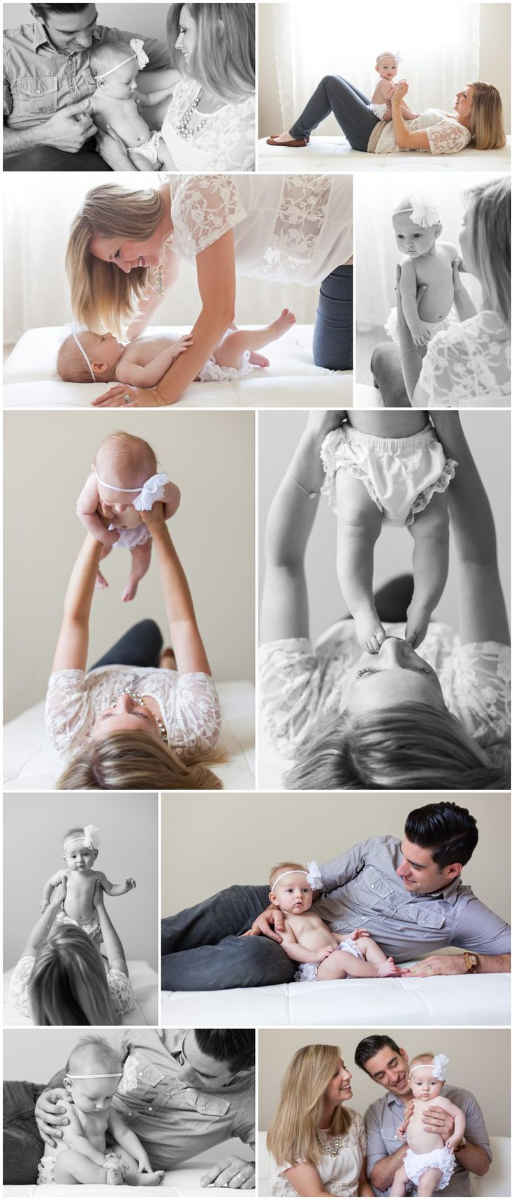 Four Month Old Portraits
