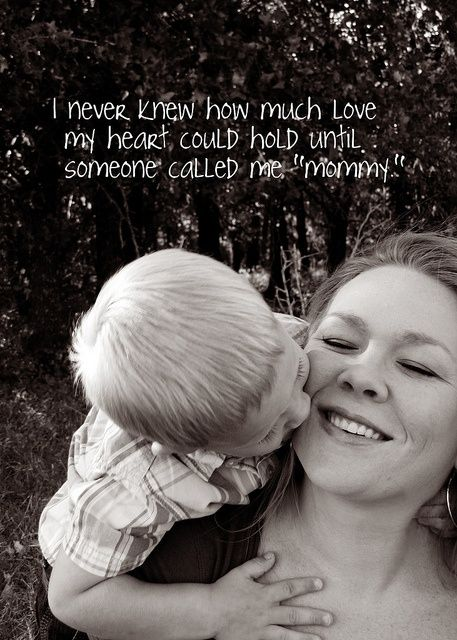 Mommy quote by Lisa_001, via Flickr.. When I have a kid-- would be cute to make a wall quote of this:)