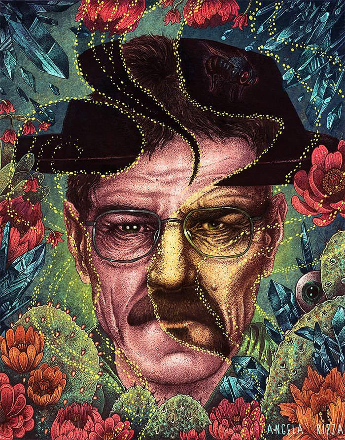 Breaking Bad | Illustrations by Angela Rizza
