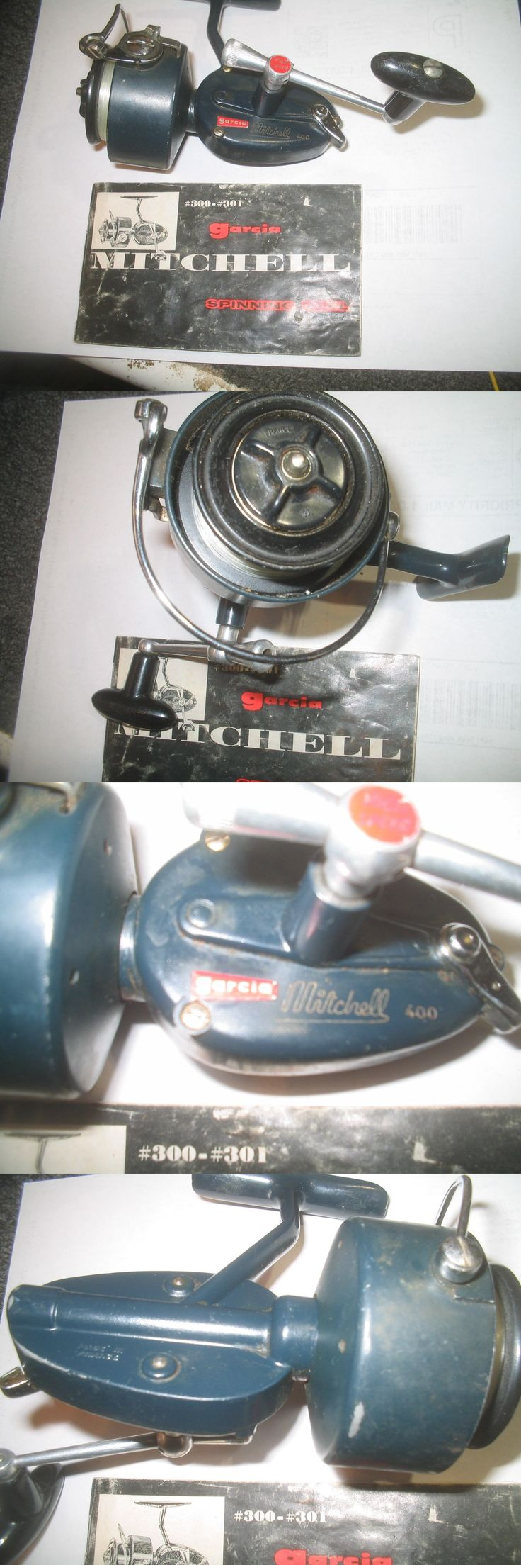 Spinning Reels 36178: Vintage Garcia Mitchell 400 High Speed Fishing Reel Made In France.S/N 4226299 BUY IT NOW ONLY: $70.0