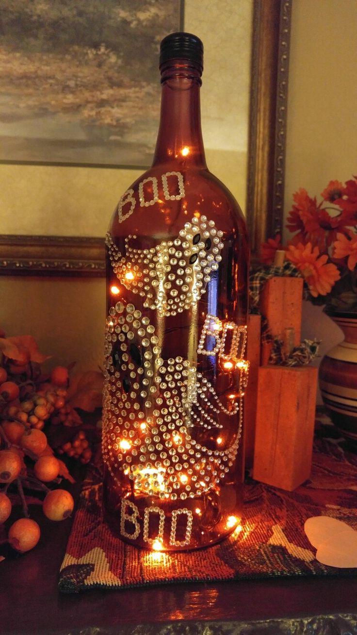 Bottle of Boou0027s lighted wine bottle 123