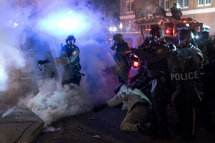 Riot police in Ferguson IL. 11/25/2014   Al Jazeera America