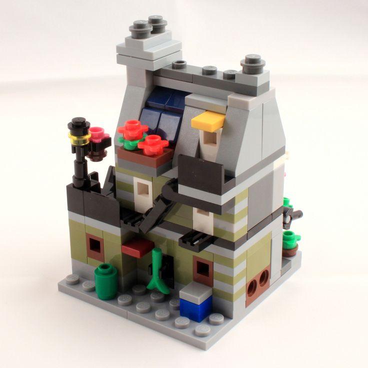 parisian restaurant mini modular lego bauen lego und. Black Bedroom Furniture Sets. Home Design Ideas