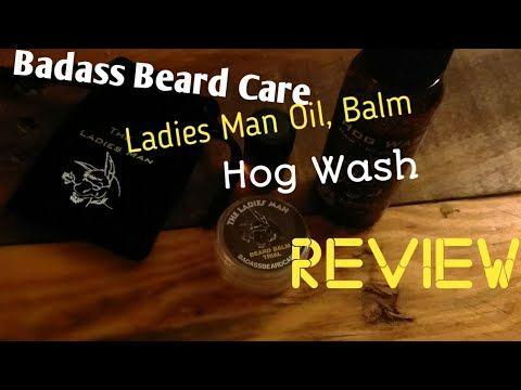 Badass Beard Care The Ladies Man Review.