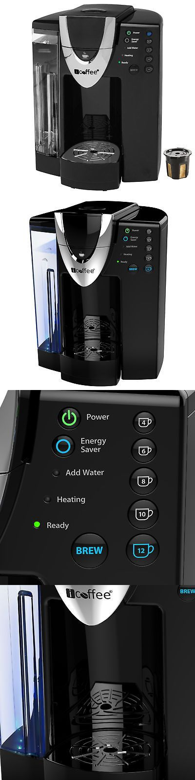 Coffee Makers Automatic 65635: Icoffee Davinci Single Serve Coffee Maker With Reusable Kcup And Spin Brew Tech -> BUY IT NOW ONLY: $64.2 on eBay!