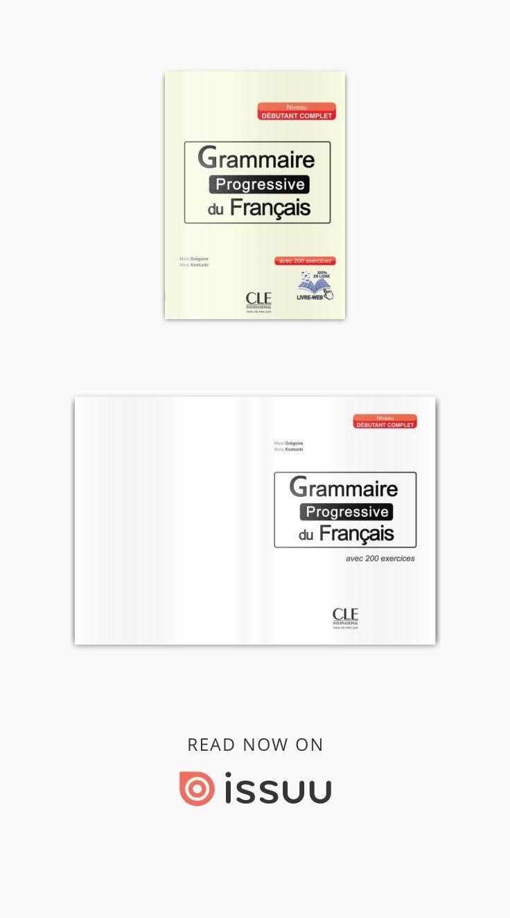 Grammaire Progressive Du Francais Debutant In 2020 Lecture Cards Against Humanity Cards
