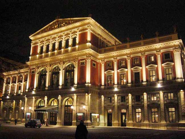 Vienna Musikverein  ~ a magnificent interior, as well, at this famous concert hall which is host to the annual New Year's Day Concert