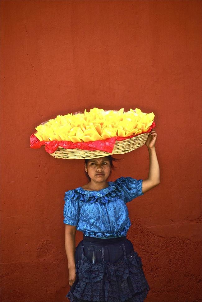 Vendedora de Mangos.