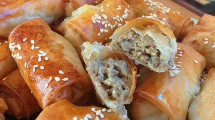 ΜΑΓΕΙΡΕΙΟΝ Η Ωραία Ελλάς: Μπουρεκάκια με κιμά