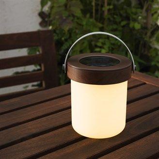 SOLVINDEN tafellamp | #IKEA #led #duurzaam #verlichting #lamp #vaderdag #tuin