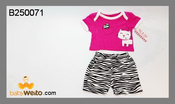 B250071  Baju setelan cewe Kucing  Bahan halus dan lembut  Warna sesuai gambar  IDR 90*