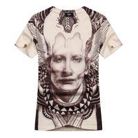 2015 summer new brand mens European style plus size t shirt stripe short sleeve Casual fashion hip hop T-shirts camisetas