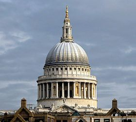 #Cathedrals: Dome of #St.Paul's Cathedral, #London, #England.
