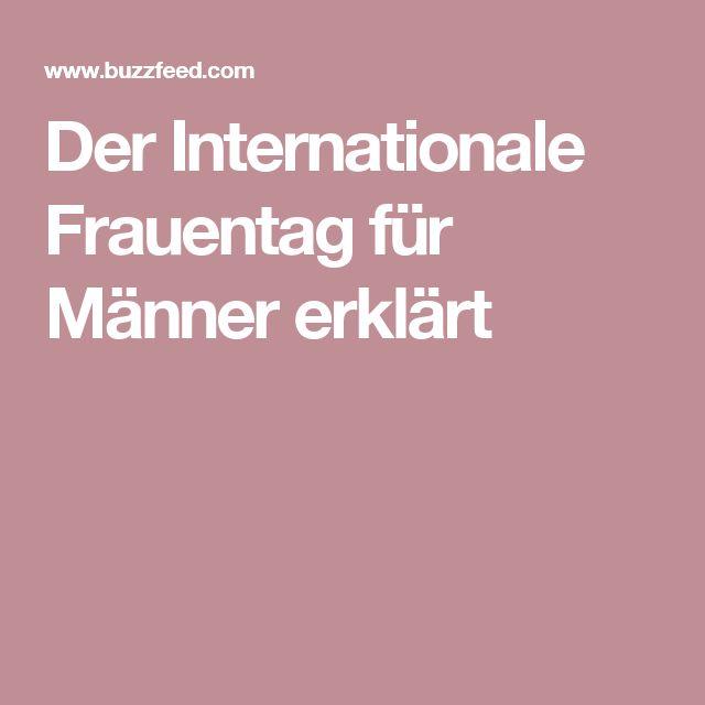 Der Internationale Frauentag für Männer erklärt