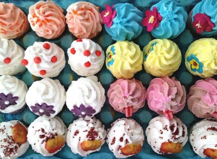 Bomb Cosmetics ♥  #bombcosmetics #eyecandy #cupcake #bath