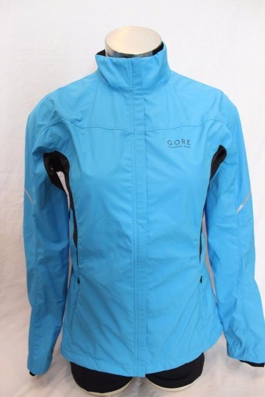 Gore Bike Wear New Women's Essential Windstopper Cycling Running Jacket Medium Nwt $160 M Softshell Regular Women Blue Windproof