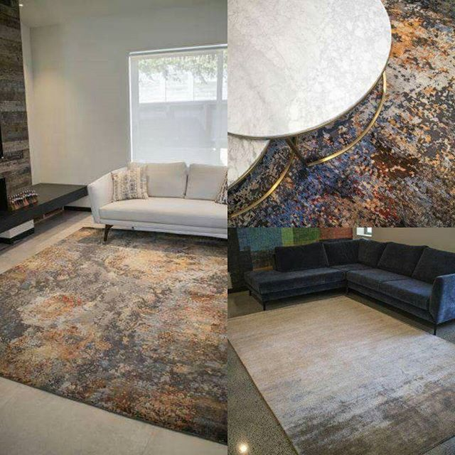 "One of our latest deliveries to Remuera. Our ""Cascade"" and ""Mars"" rugs have found a new home! #luxecollection #bambooblends #rugs #rugdesign #interiordesign #homedecor"