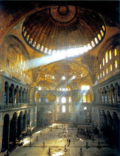 Hagia Sophia, Istanbul, Turkey!