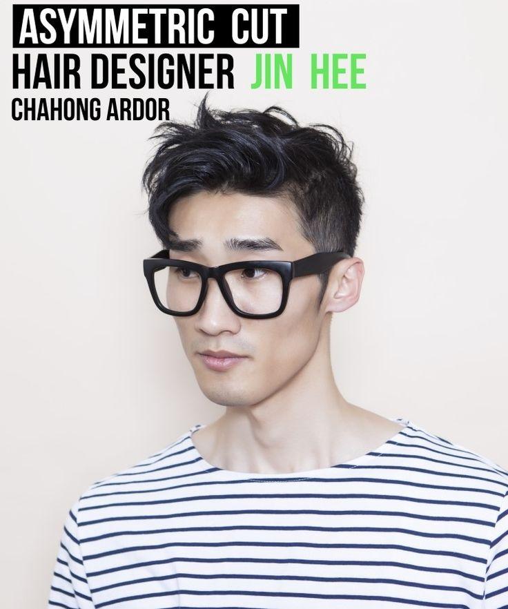 Asymmetric cut #men #man #hair #beauty #cut #chahongardor