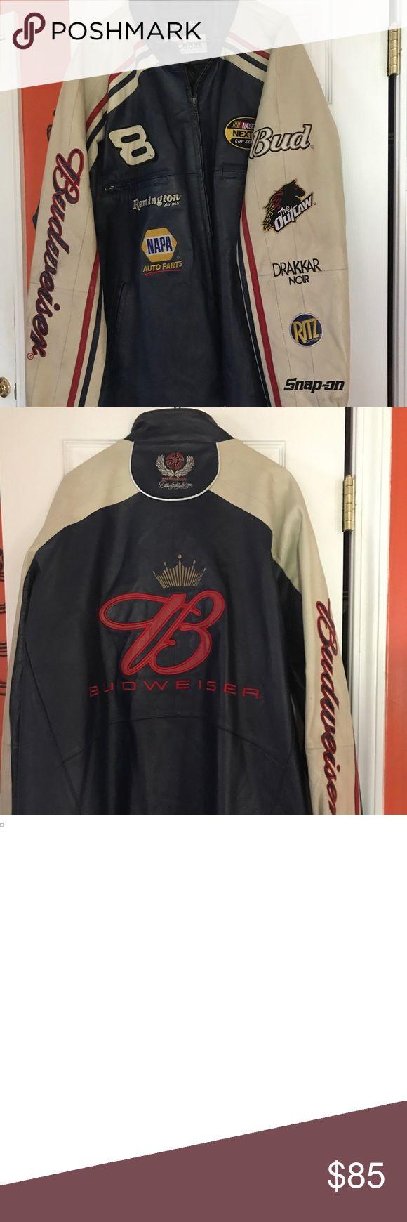 Wilson's Leather Dale Earnhardt NASCAR Jacket Me…