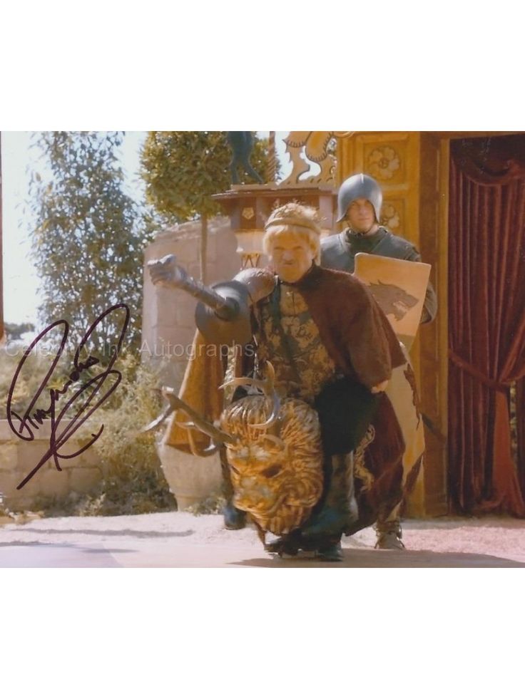 RAYMOND GRIFFITHS as the King Joffrey Dwarf - Game Of Thrones
