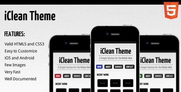 iClean Theme