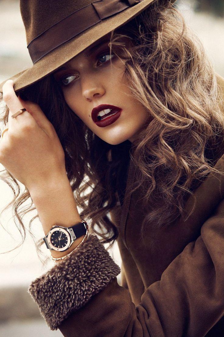 Les 25 meilleures id es de la cat gorie cheveux brun acajou sur pinterest couleur cheveux brun - Couleur bordeau en anglais ...