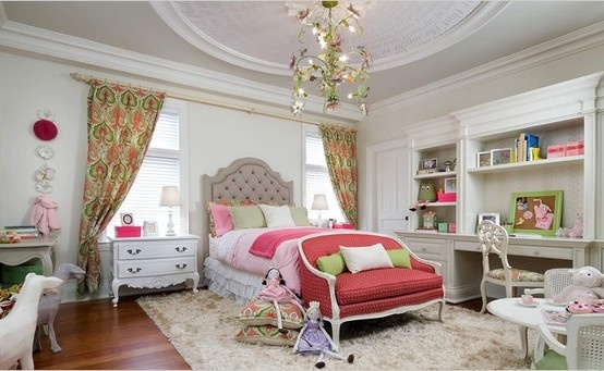 Inspiration. Candice Olson designs beautiful girls bedroom. LOVE LOVE LOVE
