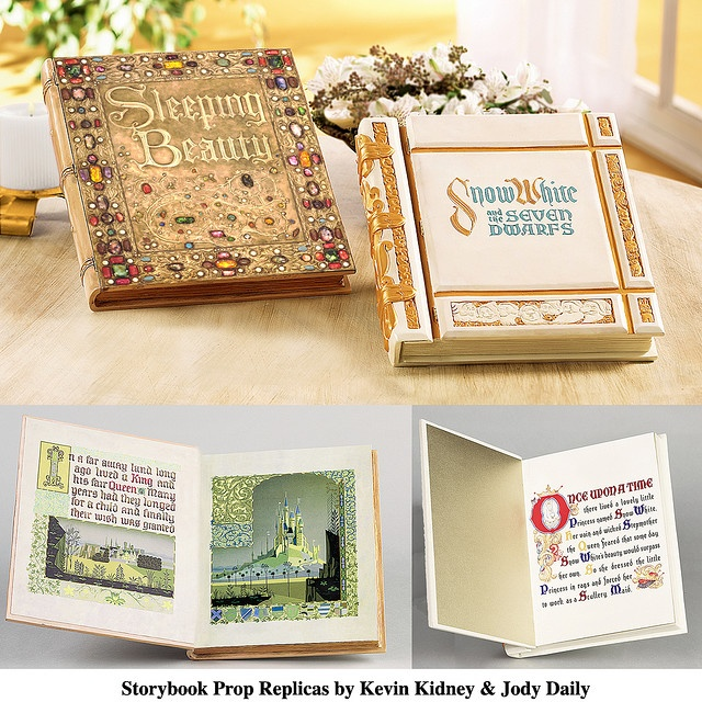 I want these sooo bad.... (Storybook Prop Replicas, disney)