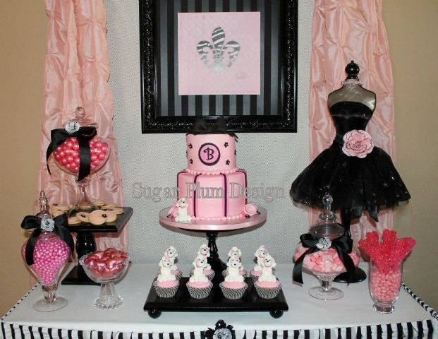 Paris Theme Birthday Party @ Debbie Kennedy Events & Design, Formerly Sugar Plum Designs – VA, MD & DC Metropolitan Area, Greater Scottsdale, Arizona Candy Tables, Event Planning & Dessert Buffets, Wedding Planner