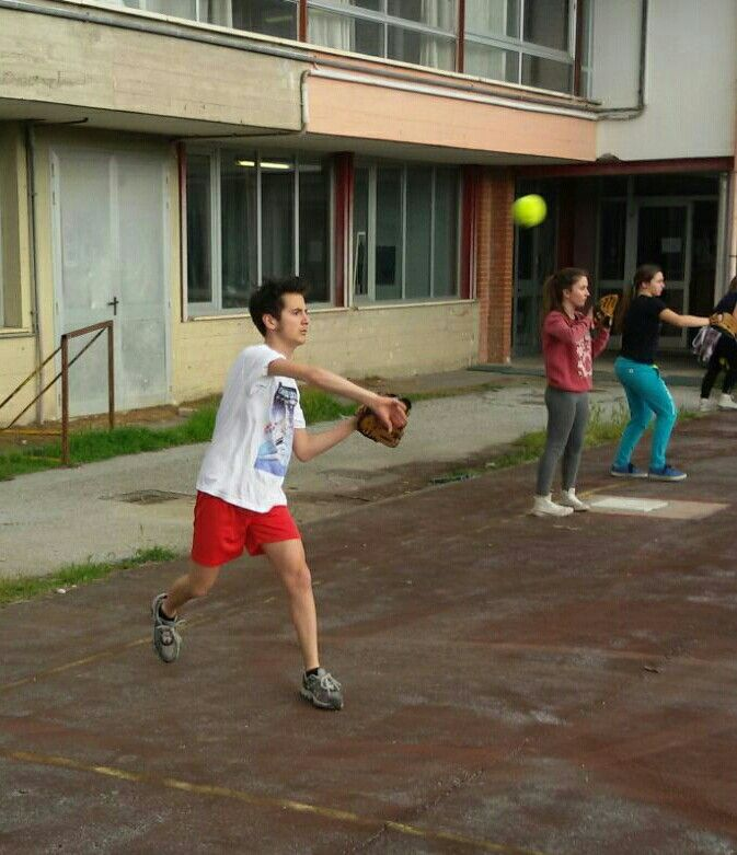 Il Baseball al Liceo artistico Stagi di Pietrasanta.