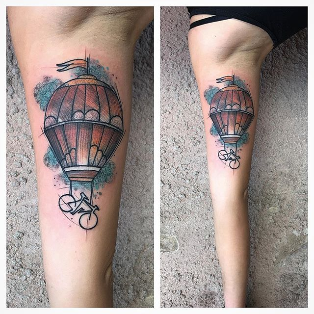 727 best hot air balloon tattoo images on pinterest for The california dream tattoo shop